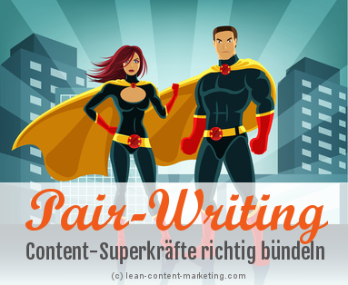 Lean Content Marketing Pairwriting