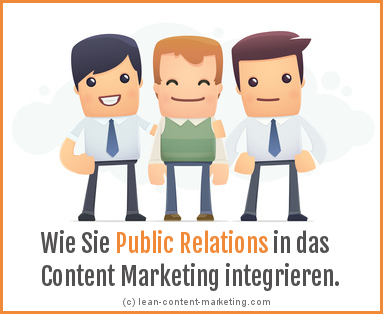 Lean Content Marketing Zukunft PR