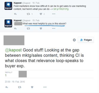 Lean-Content-Marketing-Inhalte-mit-Kunden-entwickeln-Feedback-Twitter