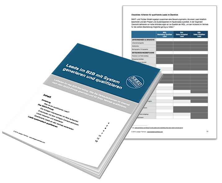Leadgenerierung im B2B – Whitepaper