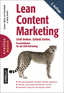 Lean Content Marketing - Leitfaden für das B2B-Marketing