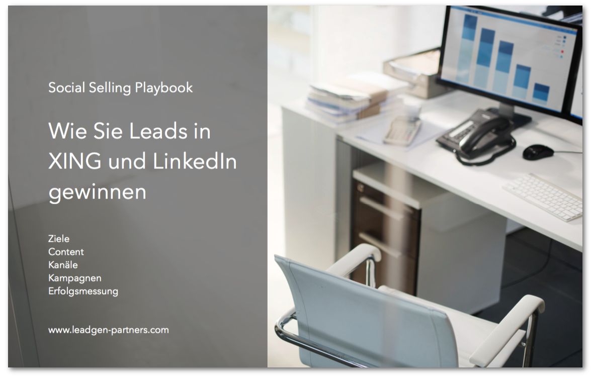Social Selling im B2B - Playbook